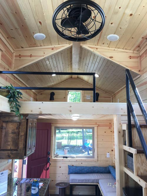 Living Area - New Beginning by Rafter B Tiny Homes