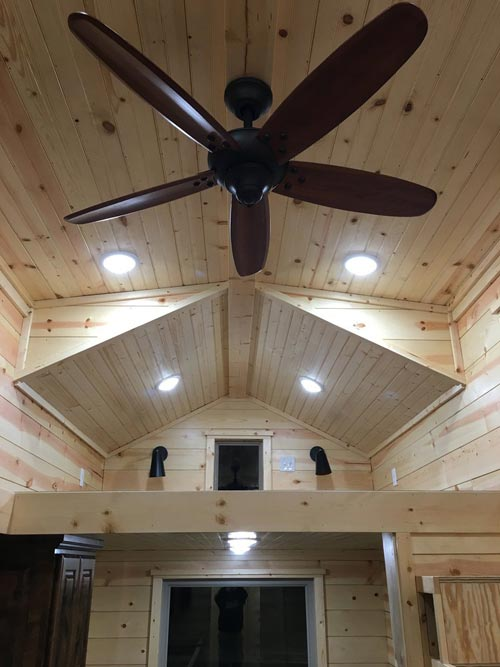 Ceiling Fan - New Beginning by Rafter B Tiny Homes
