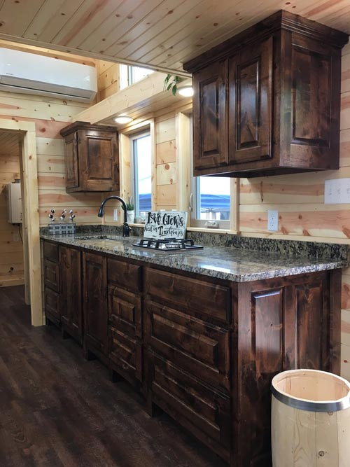 Alder Cabinets - New Beginning by Rafter B Tiny Homes