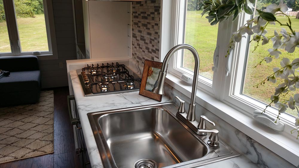 Kitchen Sink - Blue Heron by Blue Sky Tiny Homes