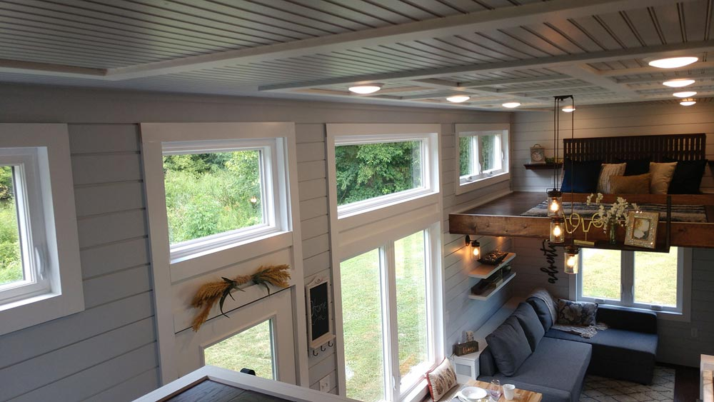 Clerestory Windows - Blue Heron by Blue Sky Tiny Homes