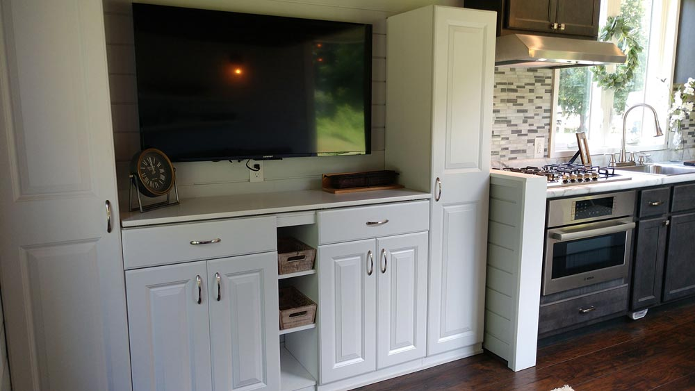 Entertainment Center - Blue Heron by Blue Sky Tiny Homes