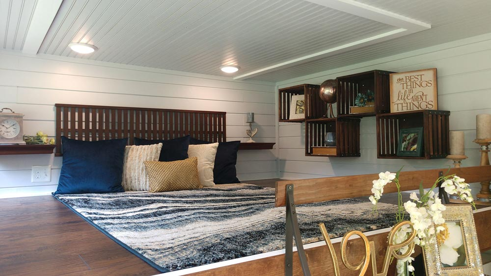 King Bedroom Loft - Blue Heron by Blue Sky Tiny Homes