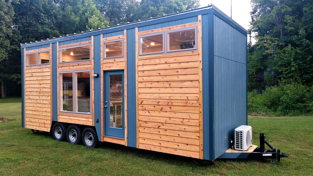 28' Tiny House - Blue Heron by Blue Sky Tiny Homes