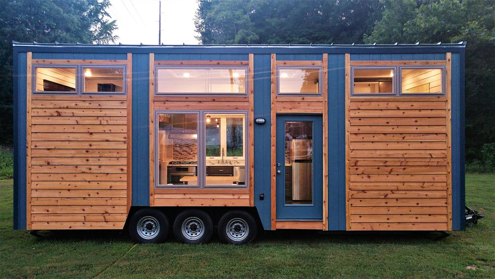 Large Windows - Blue Heron by Blue Sky Tiny Homes