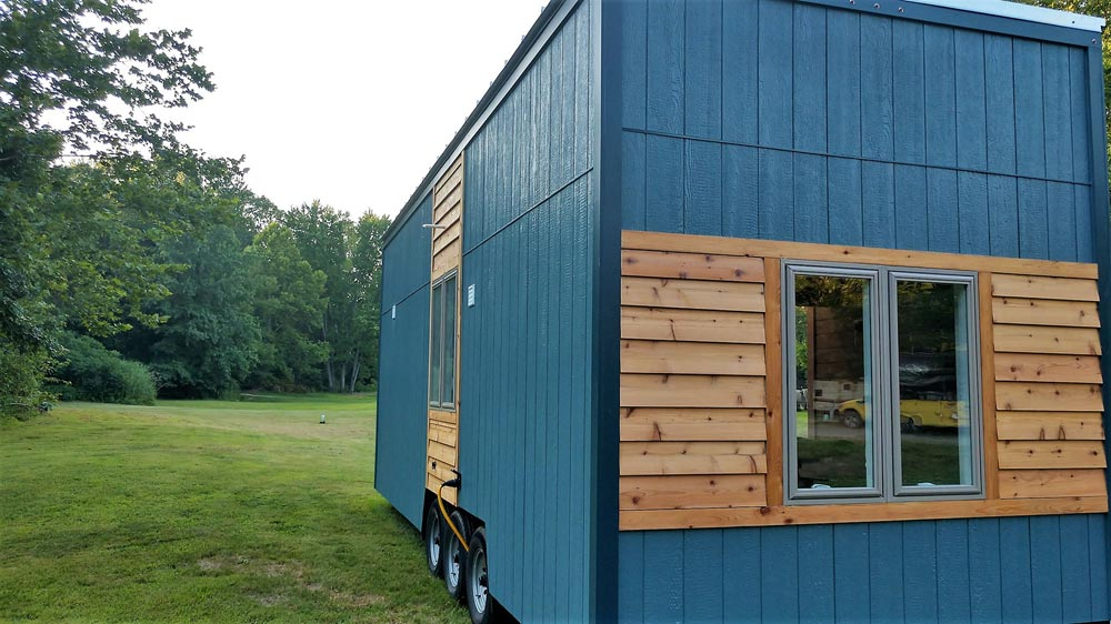 Exterior Detail - Blue Heron by Blue Sky Tiny Homes