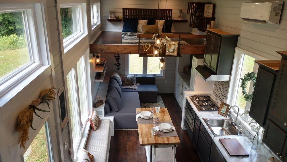 Interior View - Blue Heron by Blue Sky Tiny Homes