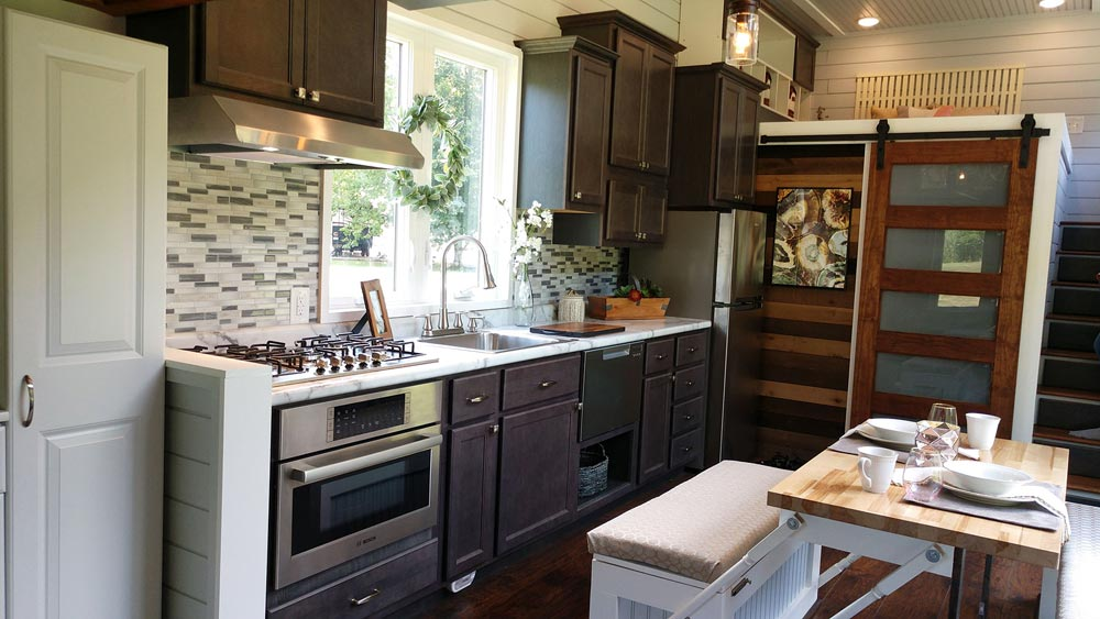 Kitchen - Blue Heron by Blue Sky Tiny Homes