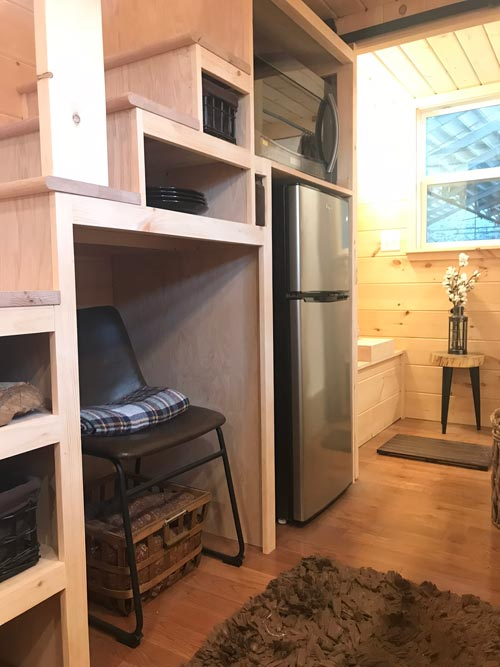 Storage Stairs - Bluegrass Beauty by Incredible Tiny Homes