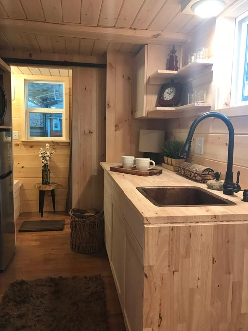 Fold Down Table - Bluegrass Beauty by Incredible Tiny Homes