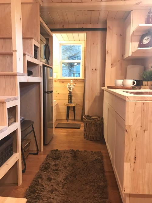 Kitchen & Bathroom - Bluegrass Beauty by Incredible Tiny Homes