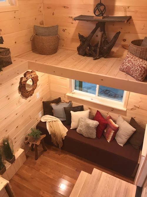 Living Room & Loft - Bluegrass Beauty by Incredible Tiny Homes