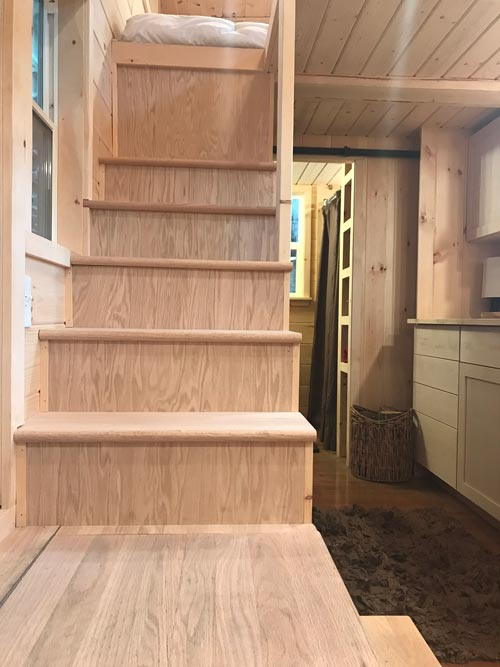 Stairs - Bluegrass Beauty by Incredible Tiny Homes