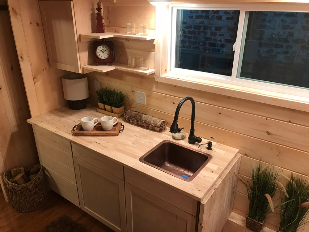 Kitchen Sink - Bluegrass Beauty by Incredible Tiny Homes