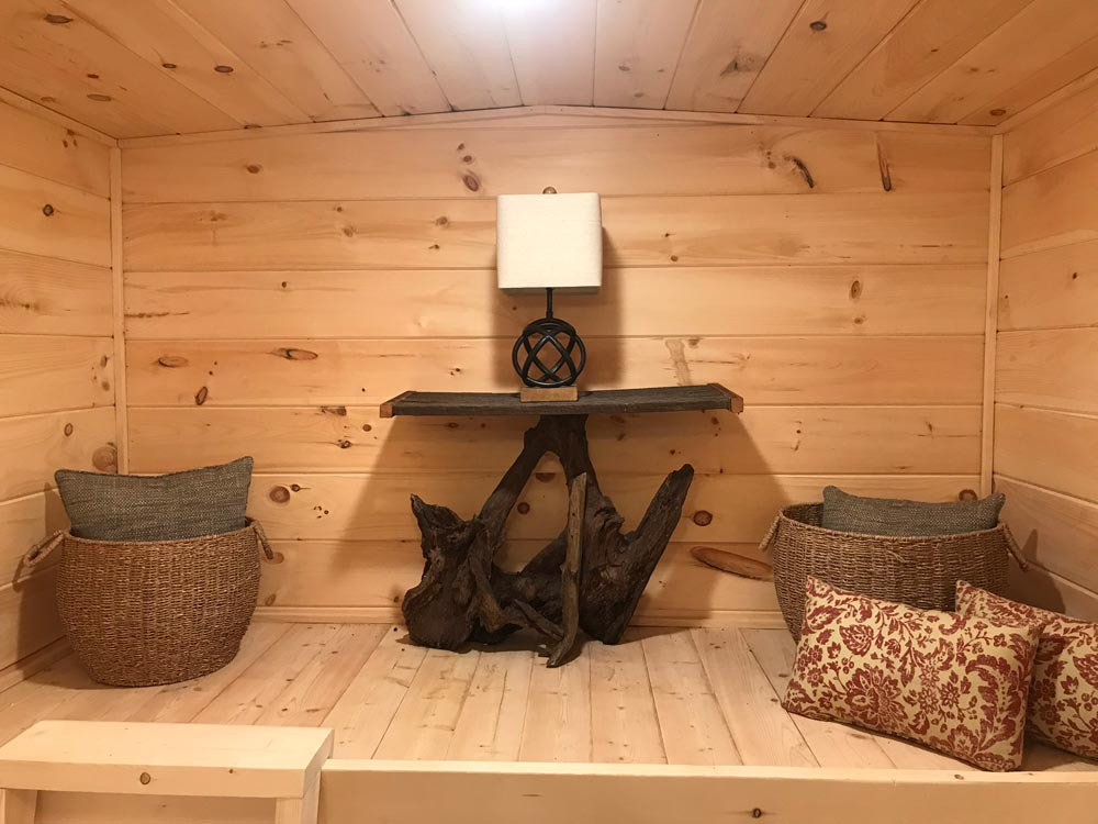 Storage Loft - Bluegrass Beauty by Incredible Tiny Homes