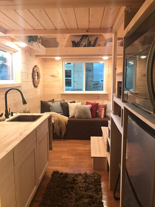 Interior View - Bluegrass Beauty by Incredible Tiny Homes