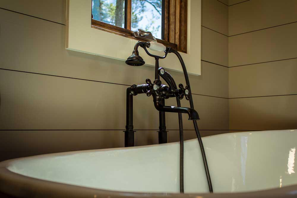 Tub Faucet - Boxcar GN by Timbercraft Tiny Homes