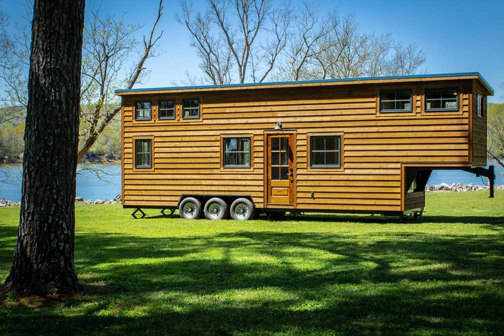 Cedar Siding - Boxcar GN by Timbercraft Tiny Homes