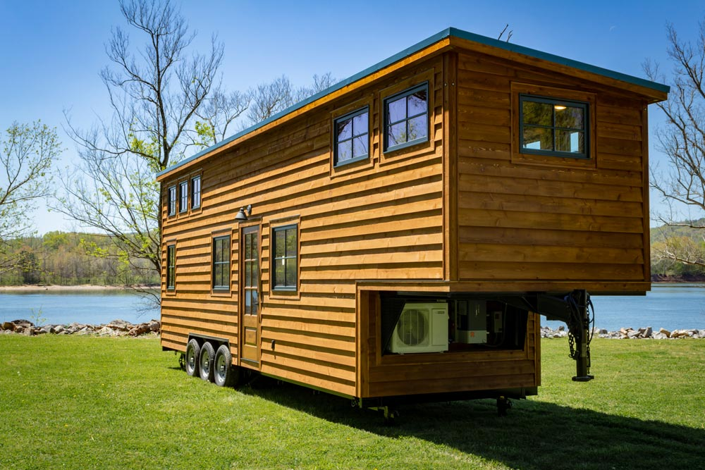 Gooseneck Tiny Home - Boxcar GN by Timbercraft Tiny Homes