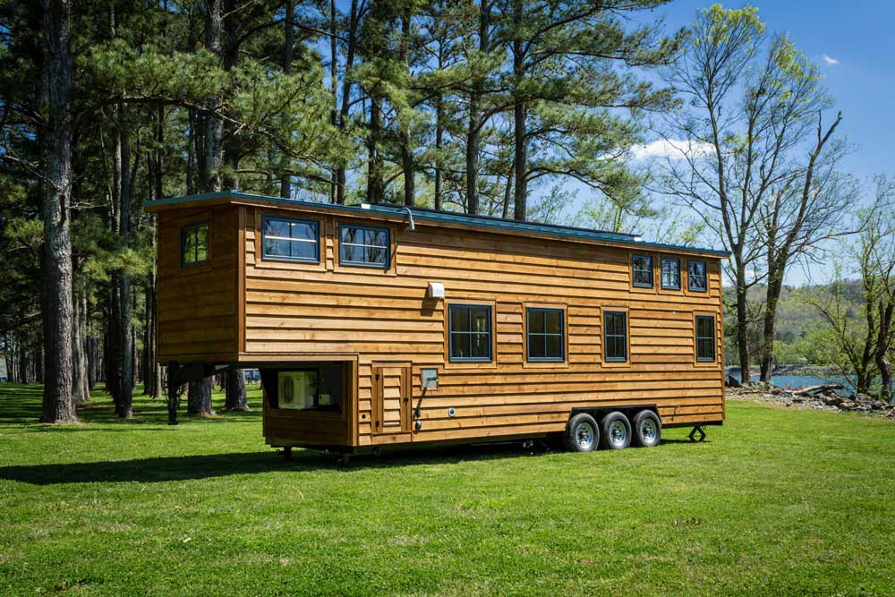 Exterior View - Boxcar GN by Timbercraft Tiny Homes