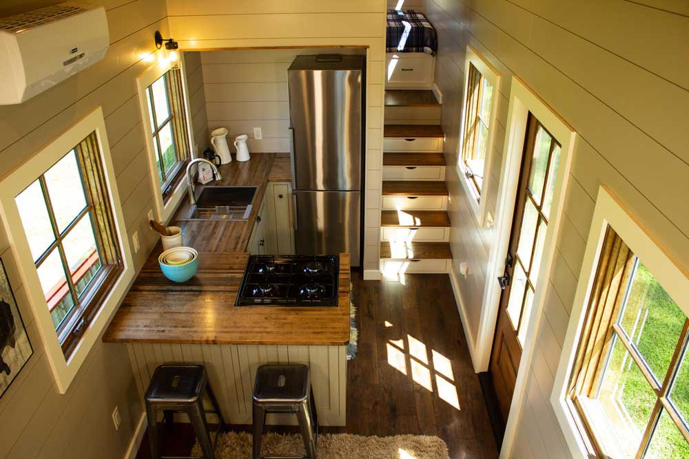 Kitchen - Boxcar GN by Timbercraft Tiny Homes