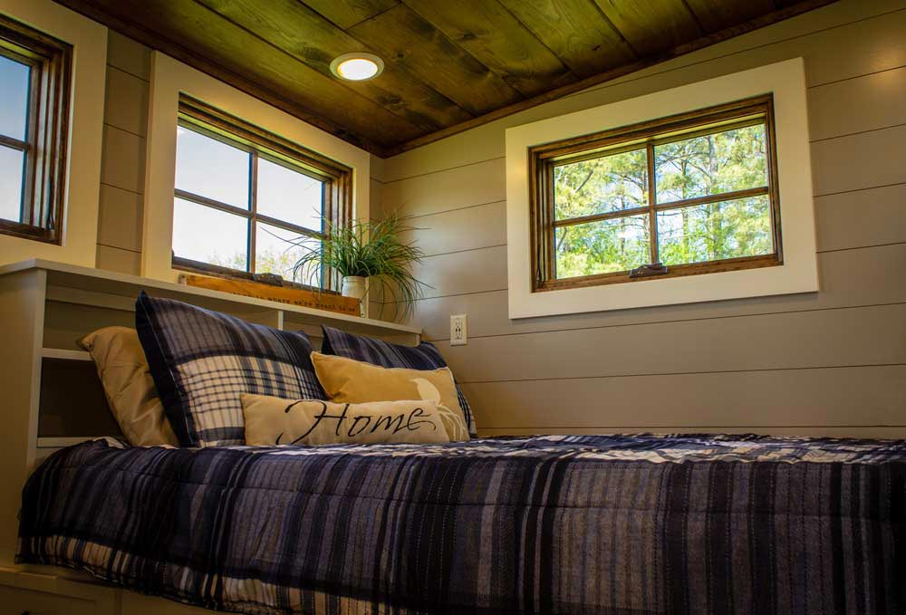 Master Bedroom - Boxcar GN by Timbercraft Tiny Homes