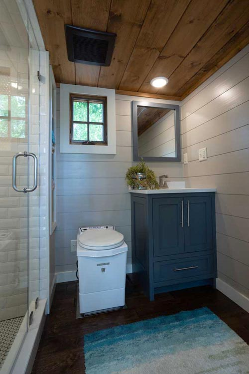 Bathroom - Denali XL by Timbercraft Tiny Homes