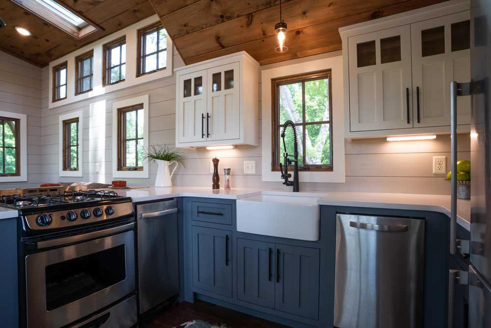 Custom Cabinets - Denali XL by Timbercraft Tiny Homes