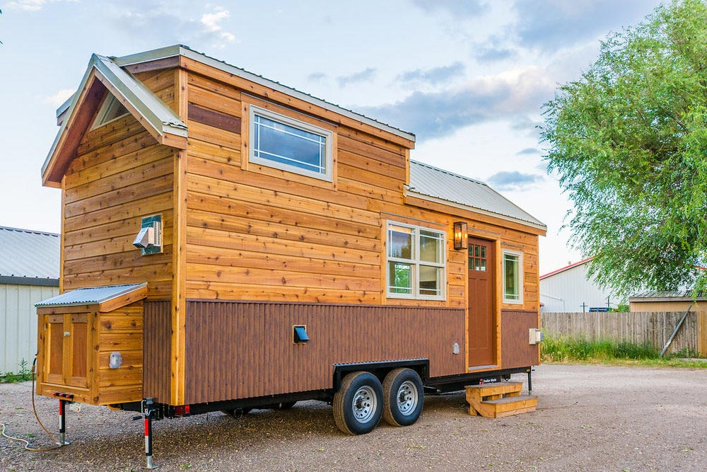 Exterior View - Francelia's Tiny House by MitchCraft Tiny Homes