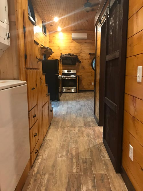 Hallway - Be Our Guest by Incredible Tiny Homes