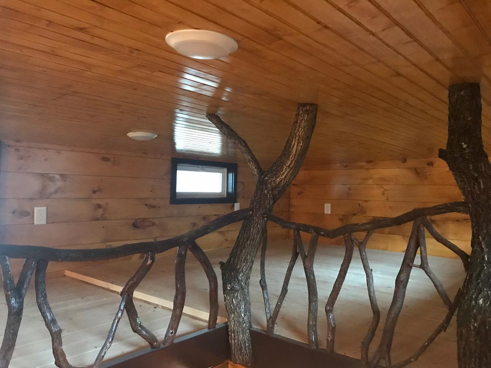 Branch Railing - Be Our Guest by Incredible Tiny Homes