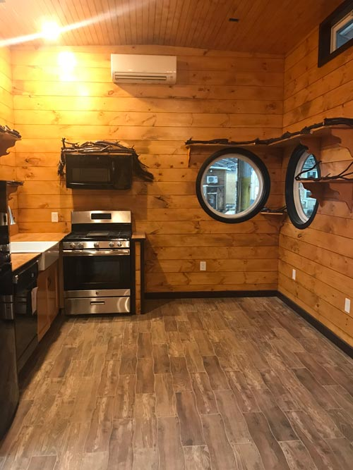 Kitchen & Dining Area - Be Our Guest by Incredible Tiny Homes