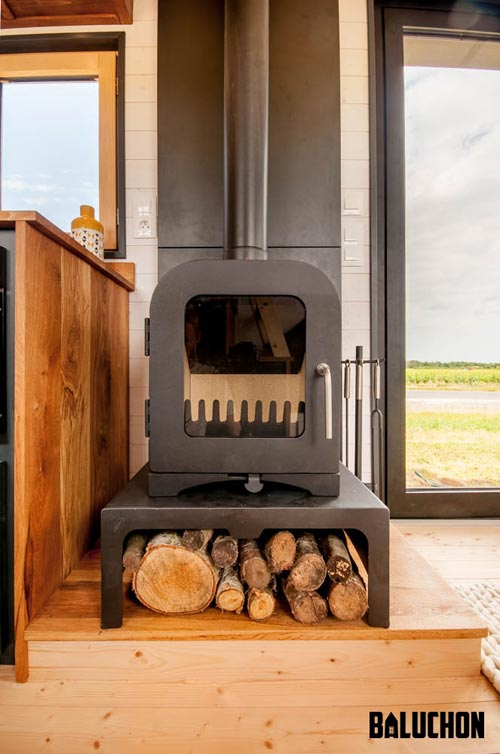 Wood Stove - Intrépide by Baluchon