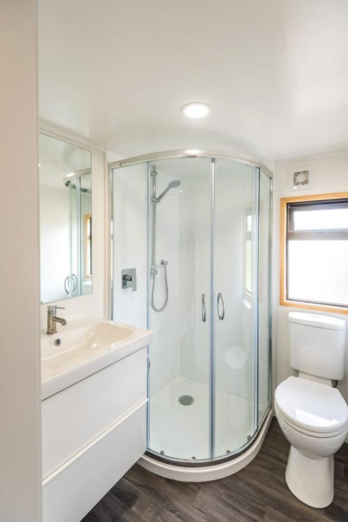 Bathroom - Kauri by Tiny House Builders