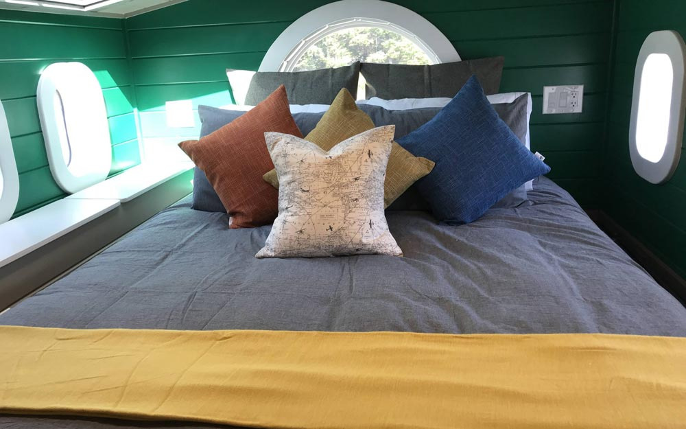Queen Bedroom Loft - Osprey at Tiny Tranquility