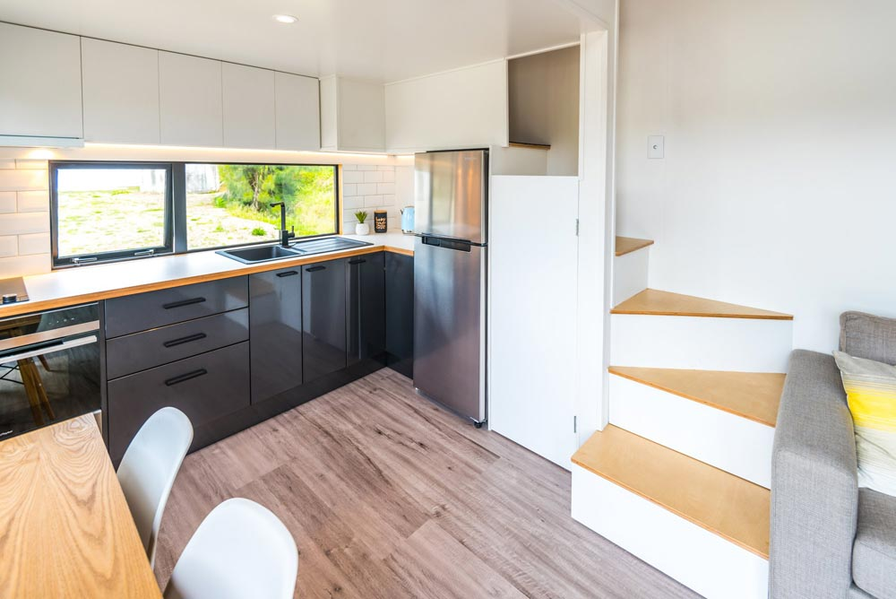 Loft Stairs - Pohutukawa by Tiny House Builders
