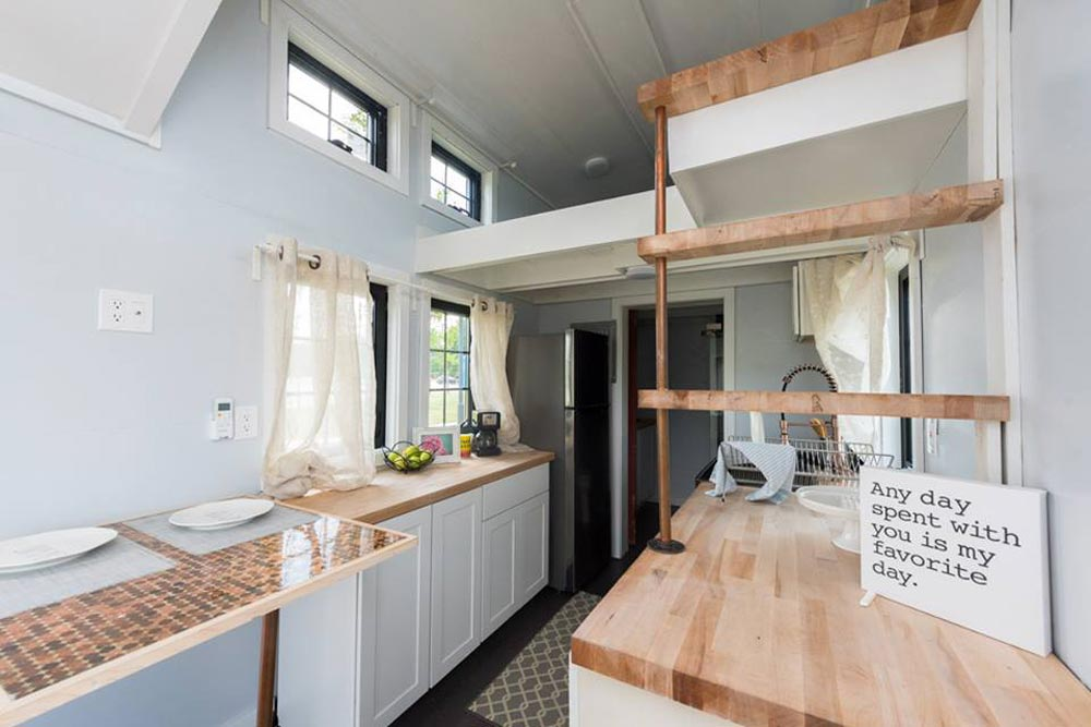 Galley Kitchen - RE/MAX Tiny Home for Tiny Tots