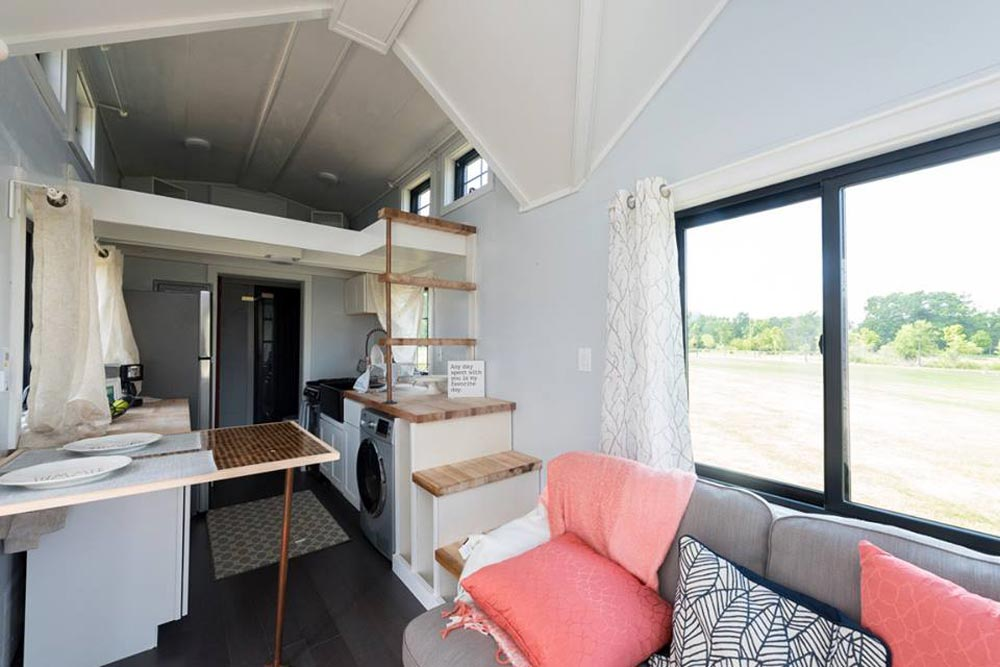 Loft Ladder - RE/MAX Tiny Home for Tiny Tots