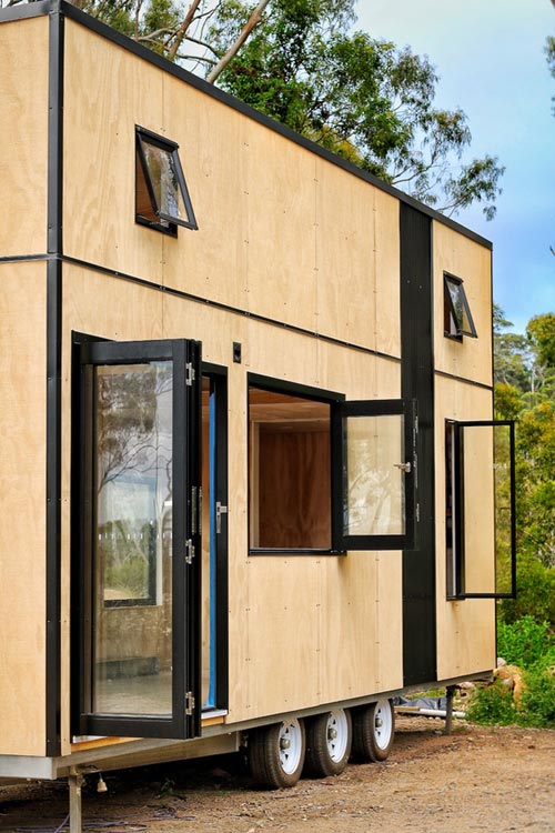 Bifold Door & Window - Showcase by Sowelo Tiny Houses