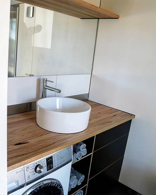 Bathroom Vanity - Showcase by Sowelo Tiny Houses