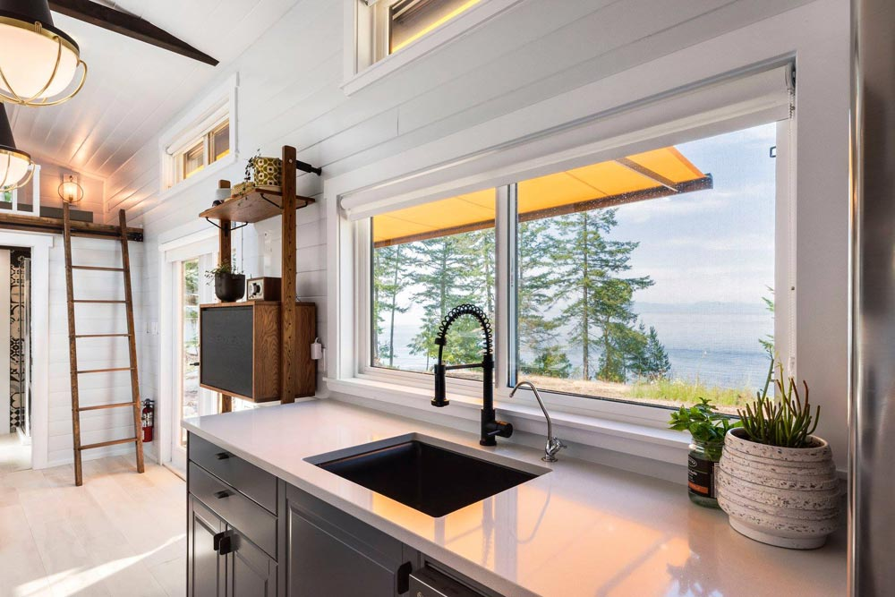 Kitchen Sink - Double Slide-Outs by Mint Tiny Homes
