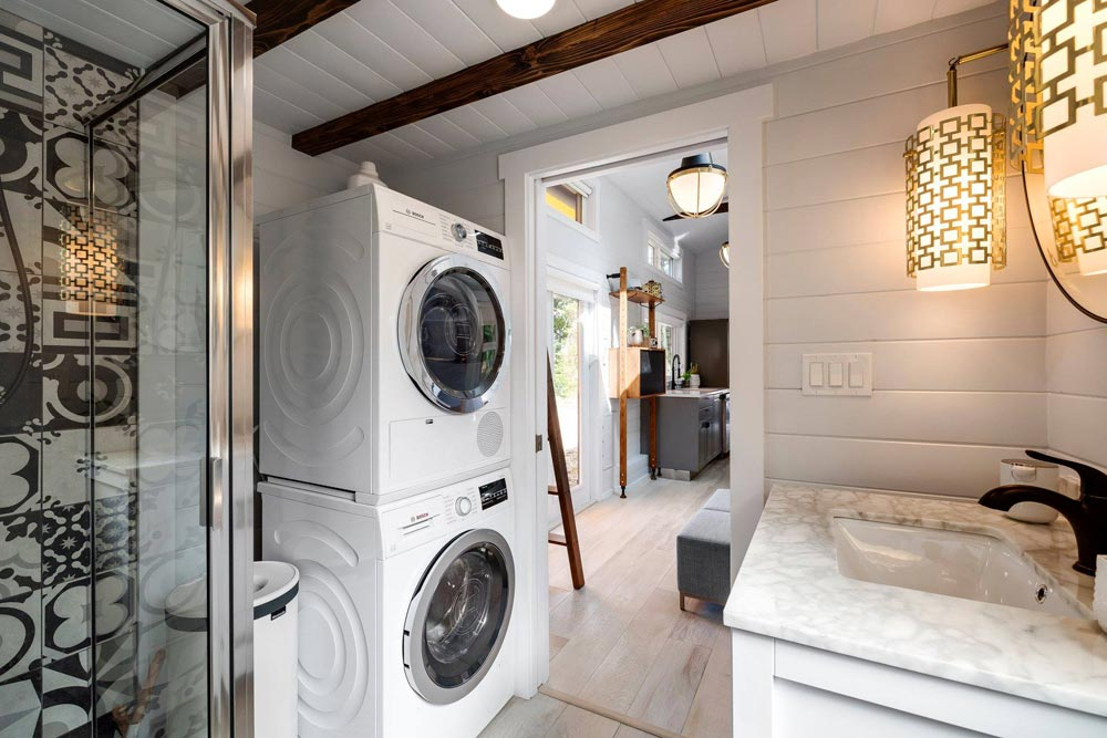 Washer/Dryer - Double Slide-Outs by Mint Tiny Homes