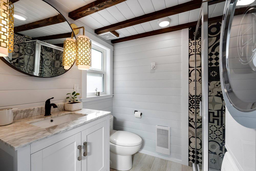 Bathroom - Double Slide-Outs by Mint Tiny Homes