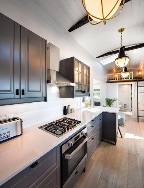 Cooktop & Oven - Double Slide-Outs by Mint Tiny Homes