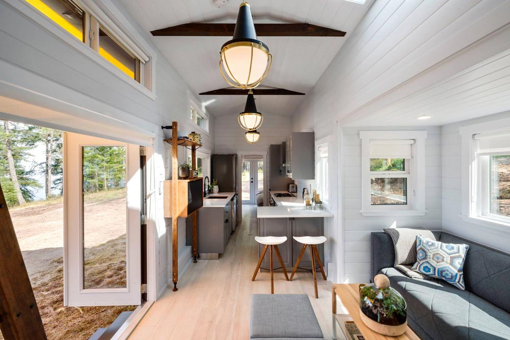 Interior View - Double Slide-Outs by Mint Tiny Homes