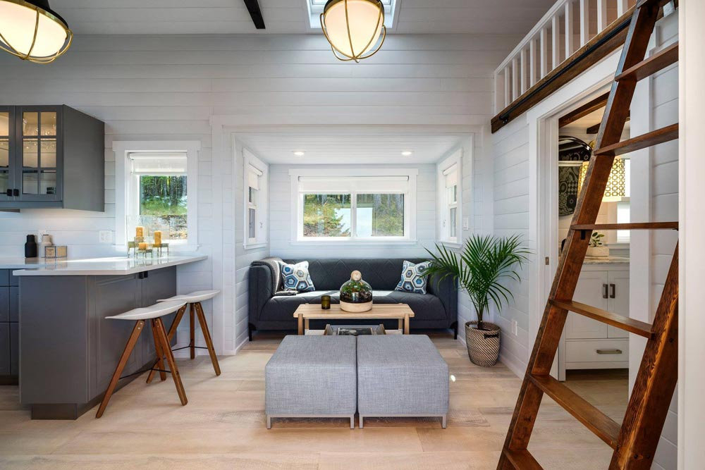 Living Room - Double Slide-Outs by Mint Tiny Homes