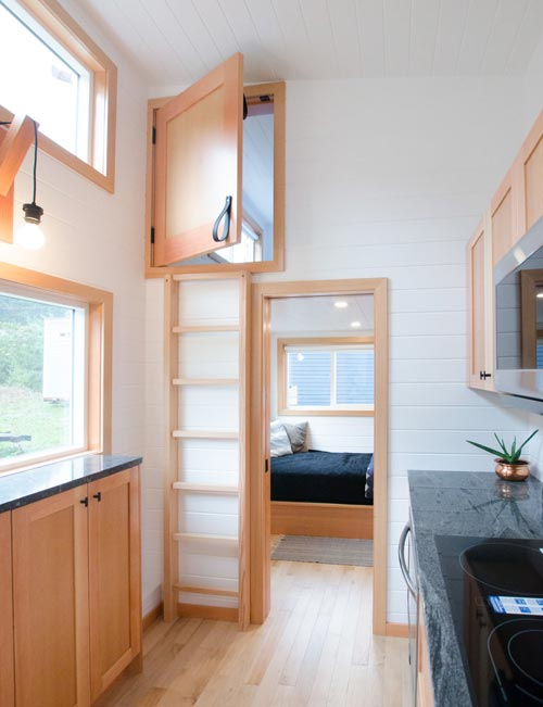 Bedroom & Loft - Albatross by Rewild Homes