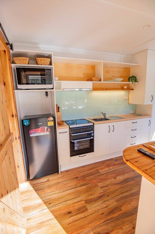 Kitchen Appliances - Beach Shack by Tiny Homes Tilba Australia