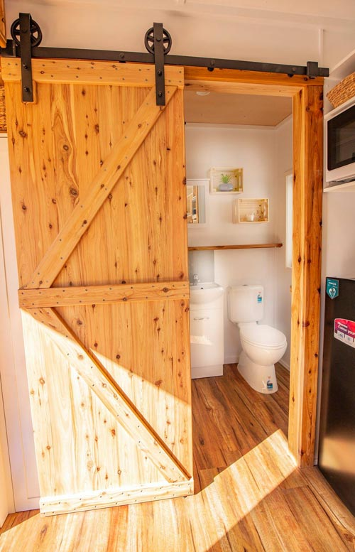Barn Door - Beach Shack by Tiny Homes Tilba Australia
