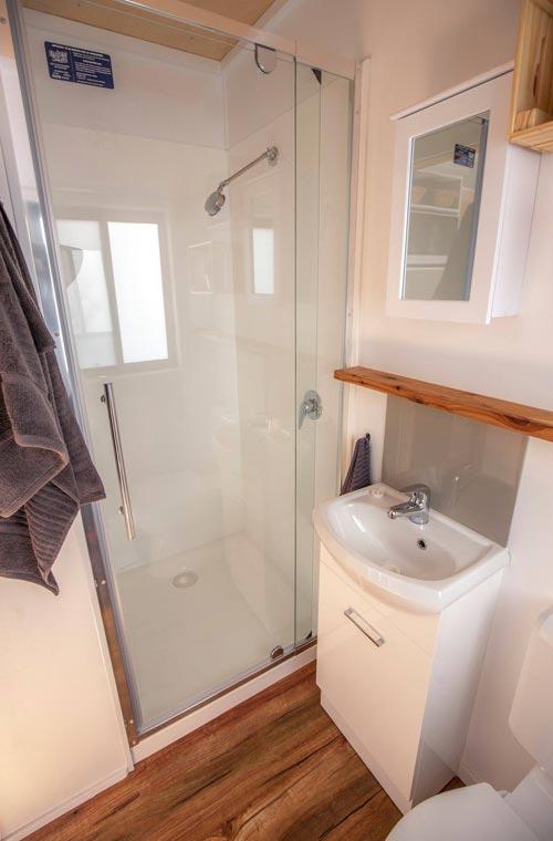 Bathroom - Beach Shack by Tiny Homes Tilba Australia